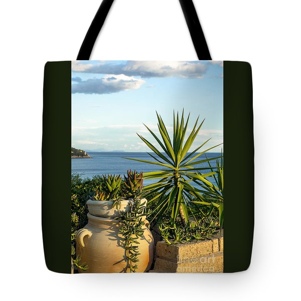 Succulents By The Sea Tote Bag