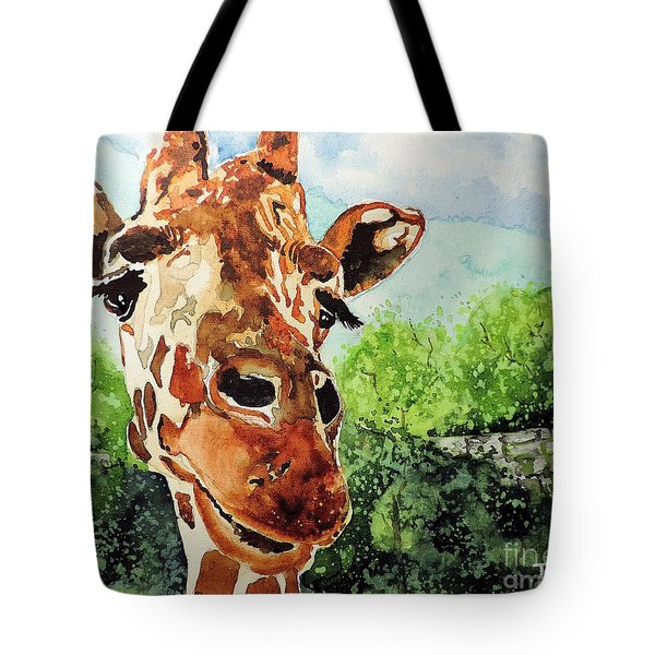 Such A Sweet Face Tote Bag by Tom Riggs