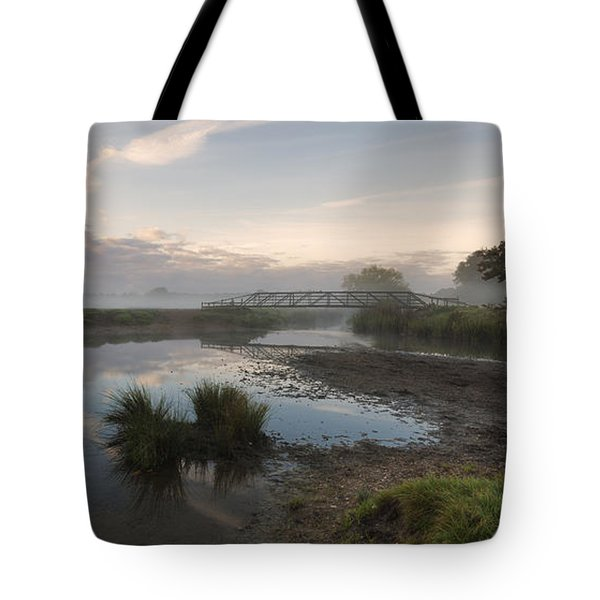 Sudbury Meadows Bridge Tote Bag