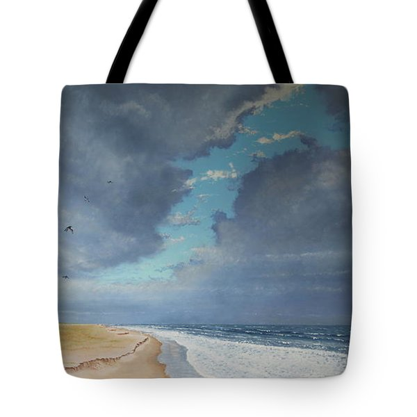Sudden Flight Tote Bag by Paul Newcastle