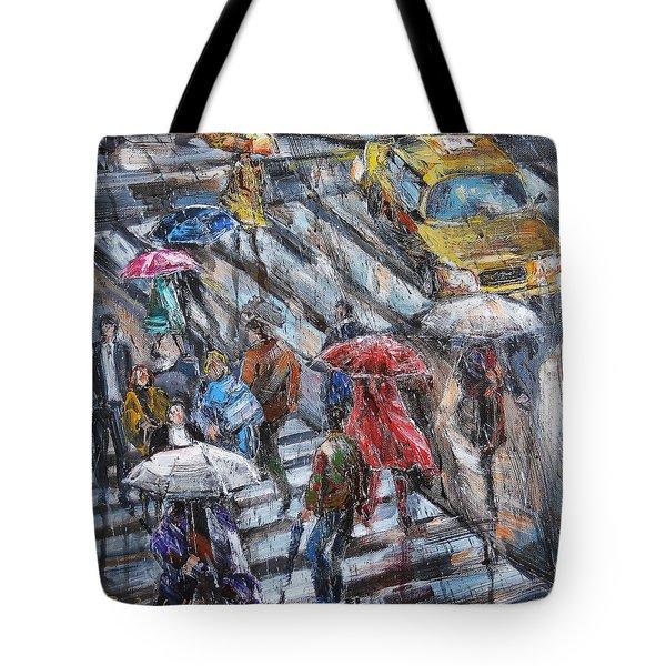 Sudden Rain II Tote Bag
