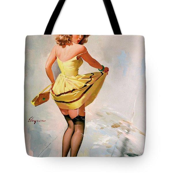 Sudden Spash Tote Bag