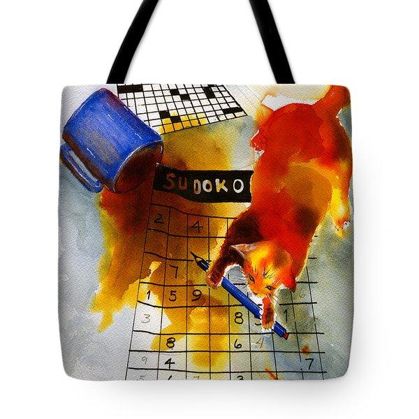Sudoko Mischief Tote Bag