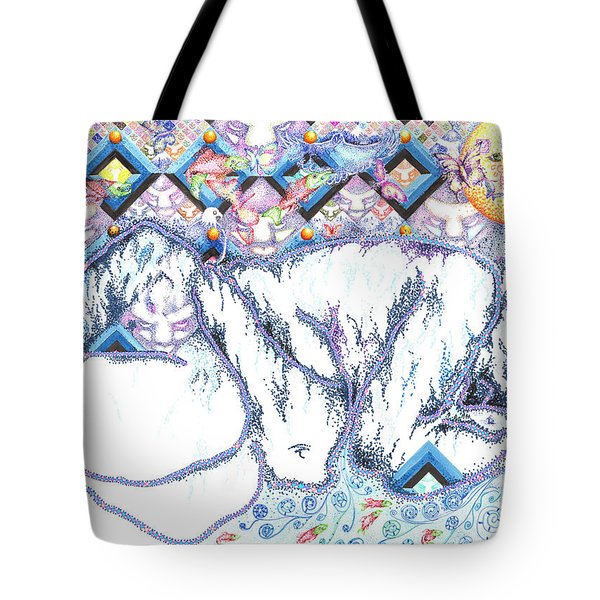 Suenos De Invierno Winter Dreams Tote Bag