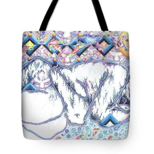 Suenos De Invierno Winter Dreams Tote Bag