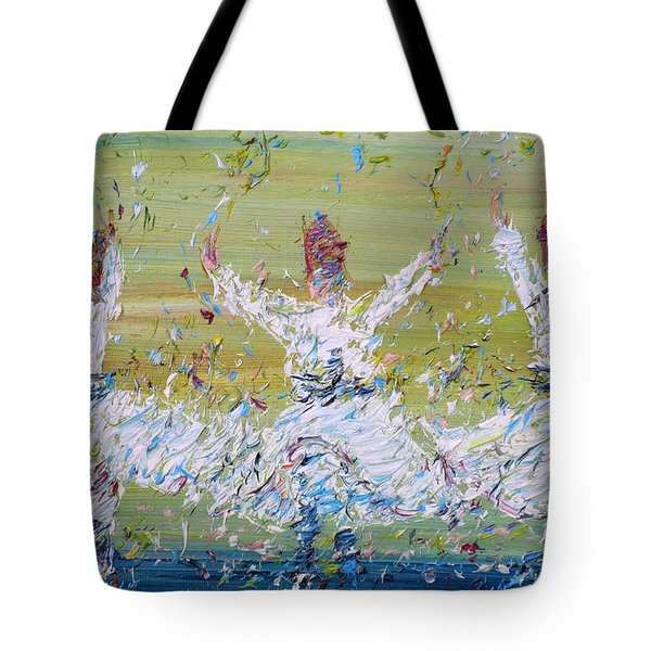 Sufi Whirling Tote Bag