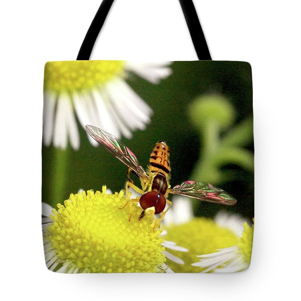Tote Bag featuring the photograph Sugar Bee Wings by Meta Gatschenberger