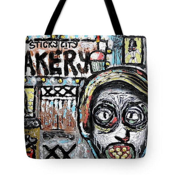 Tote Bag featuring the painting Sugar Daddy by Joe Bloch