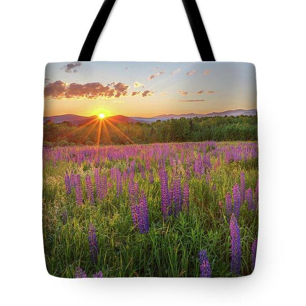 Sugar Hill New Hampshire Lupine Tote Bag
