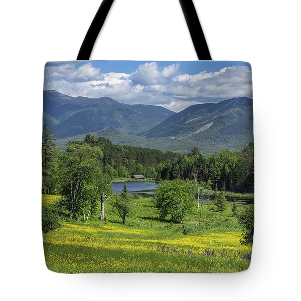Sugar Hill Springtime Tote Bag