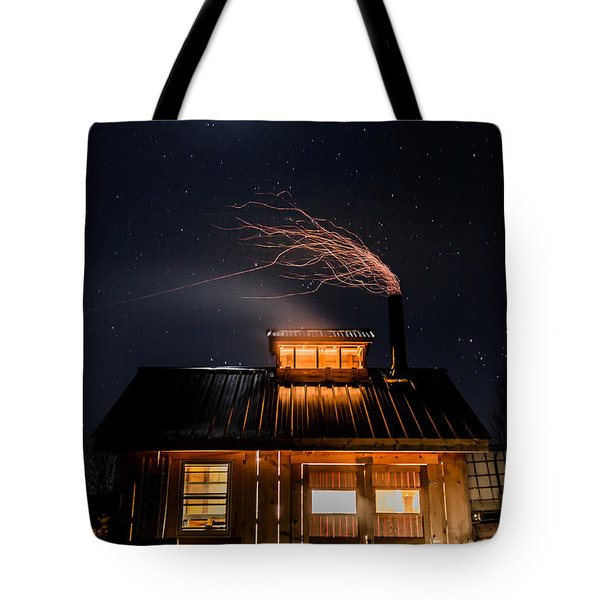 Sugar House At Night Tote Bag