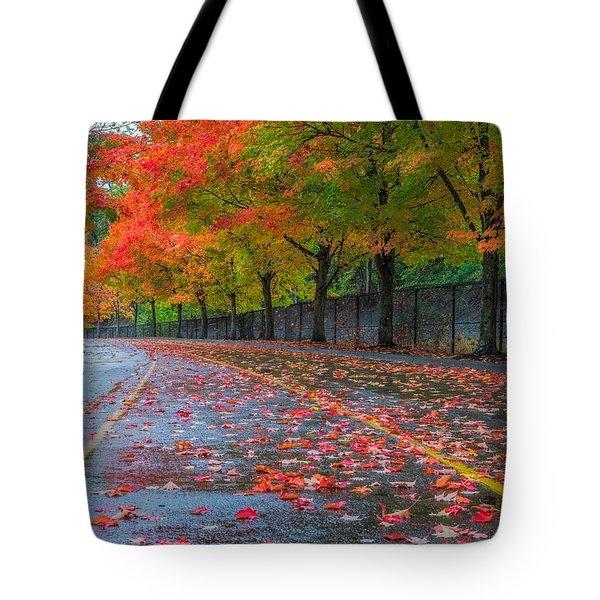 Sugar Maple Drive Tote Bag