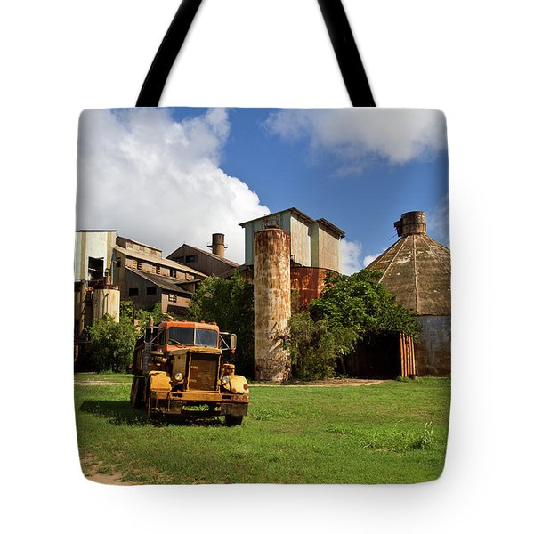 Sugar Mill And Truck Tote Bag