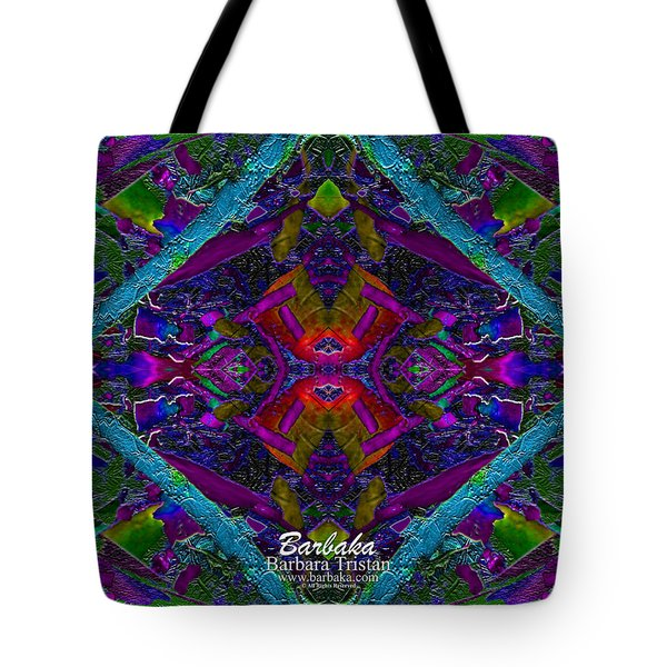 Sugarapsa Tote Bag by Barbara Tristan