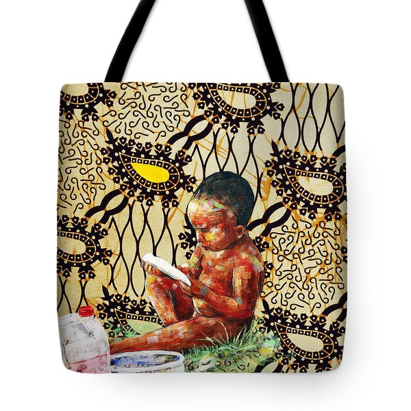 Sugarcane Challenge Tote Bag by Ronex Ahimbisibwe