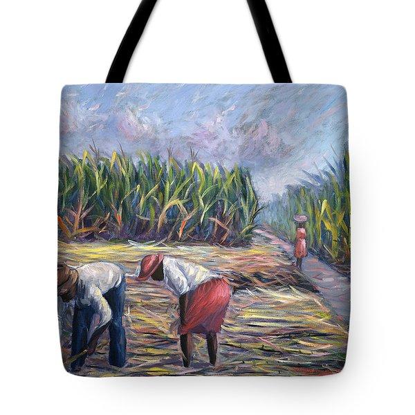 Sugarcane Harvest Tote Bag