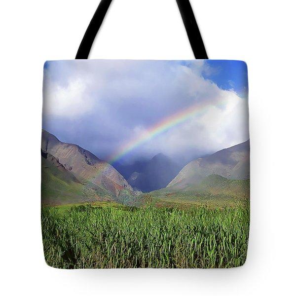Sugarcane Rainbow II Tote Bag