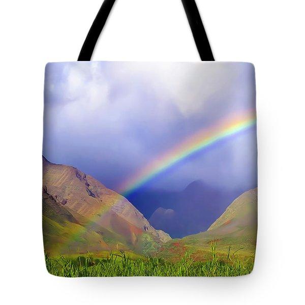 Sugarcane Rainbow Tote Bag