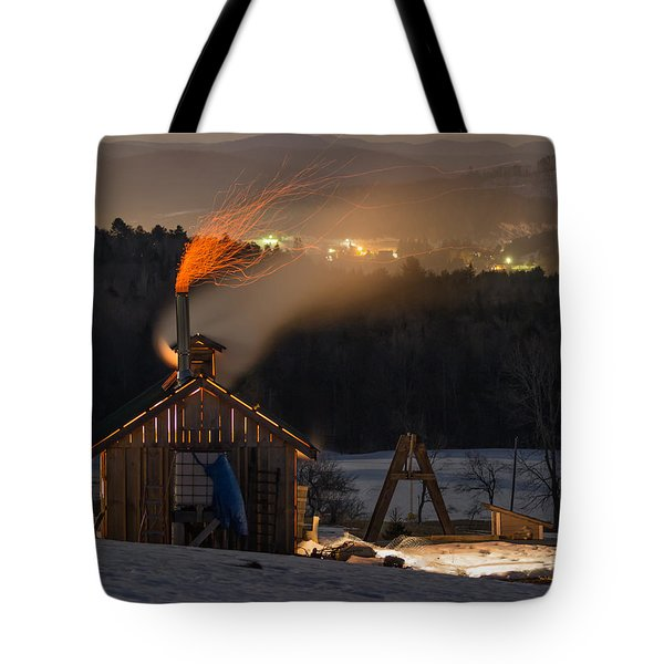 Sugaring View Tote Bag by Tim Kirchoff
