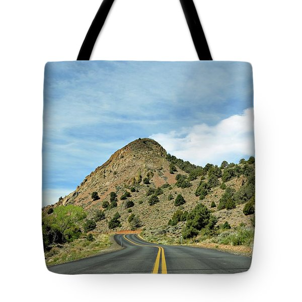Tote Bag featuring the photograph Sugarloaf Mountain In Six Mile Canyon by Benanne Stiens