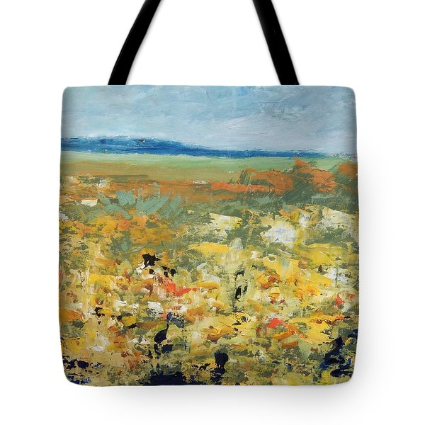Suggestion Of Flowers Tote Bag
