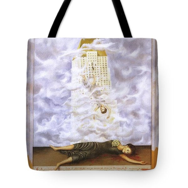 Suicide Of Dorothy Hale Tote Bag