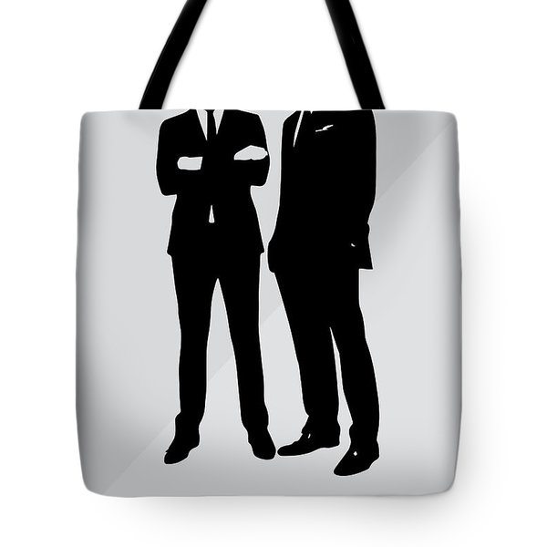 Suits Tv Show Poster Harvey Quote - Winners Don't Make Excuses Tote Bag