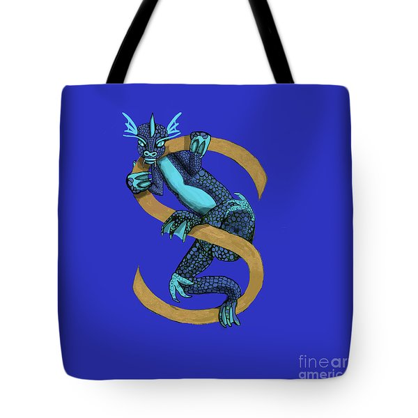 Sukio Letter S Tote Bag by Donna Huntriss