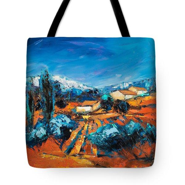 Sulla Collina Tote Bag