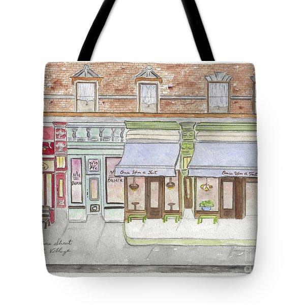 Sullivan Street In Soho Tote Bag