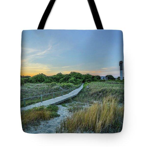 Sullivan's Island Evening Tote Bag