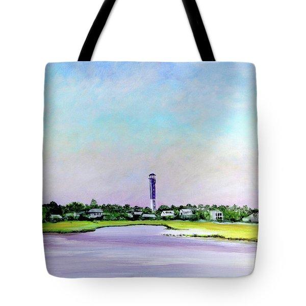 Sullivans Island Lighthouse Tote Bag