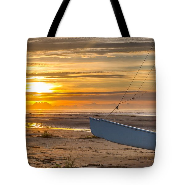 Sullivan's Island Sunrise Tote Bag
