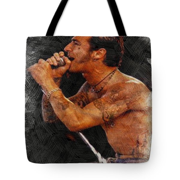 Sully Erna Singing Tote Bag