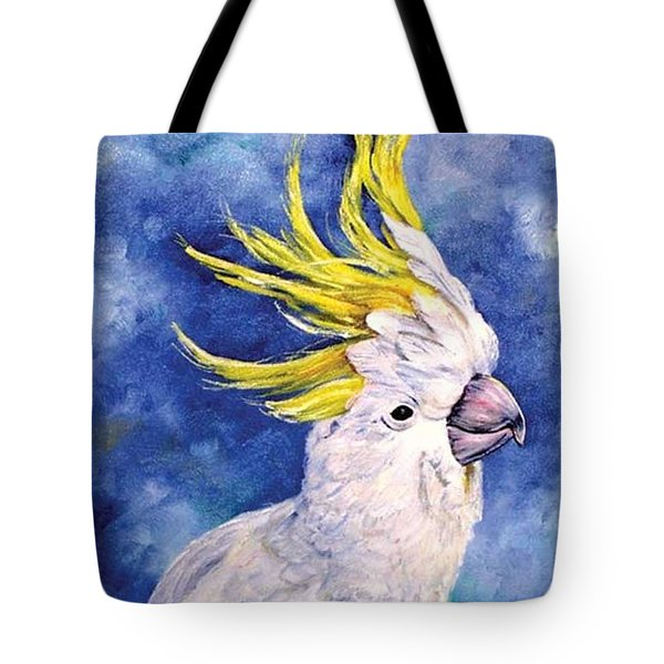 Sulphur-crested Cockatoo Tote Bag