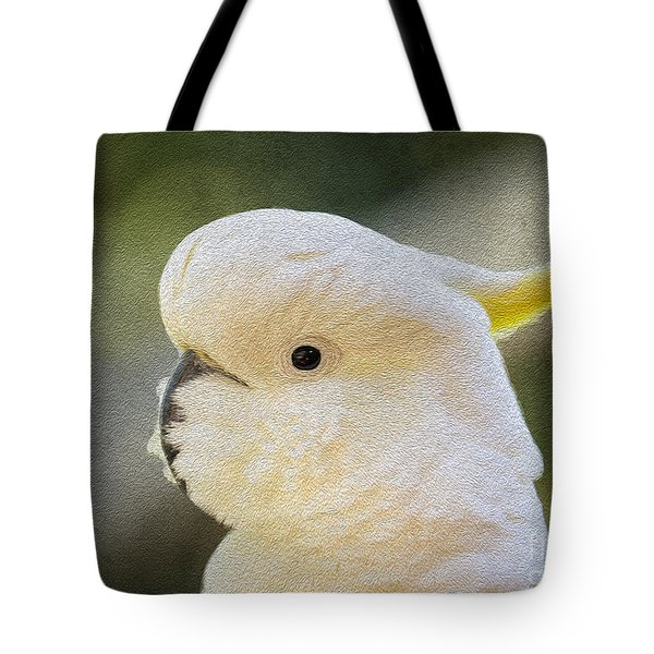 Sulphur Crested Cockatoo Tote Bag by Avalon Fine Art Photography