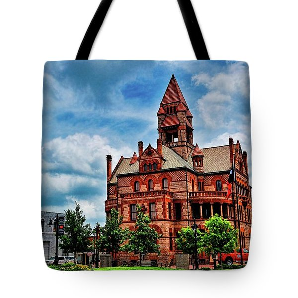 Sulphur Springs Courthouse Tote Bag