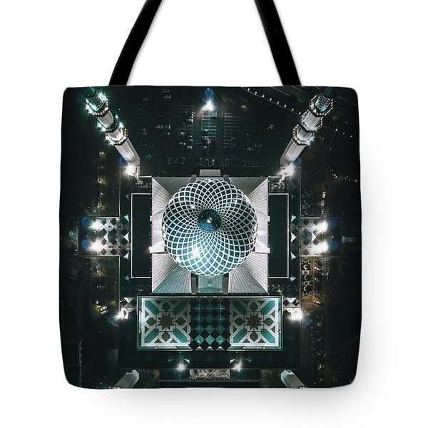 Sultan Mosque Tote Bag