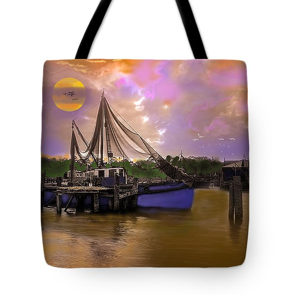 Sultry Bayou Tote Bag by J Griff Griffin