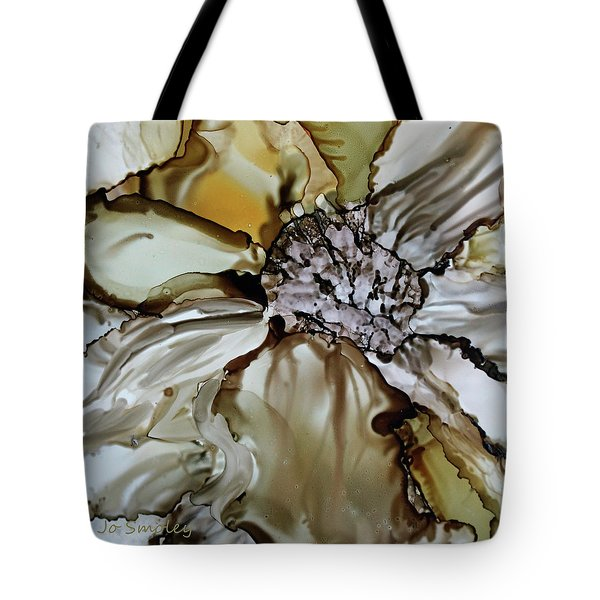 Tote Bag featuring the painting Sultry Petals by Joanne Smoley