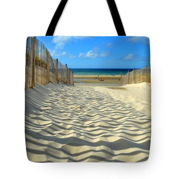 Sultry September Beach Tote Bag