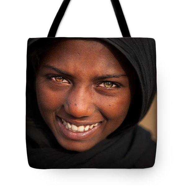Suman Smile Tote Bag