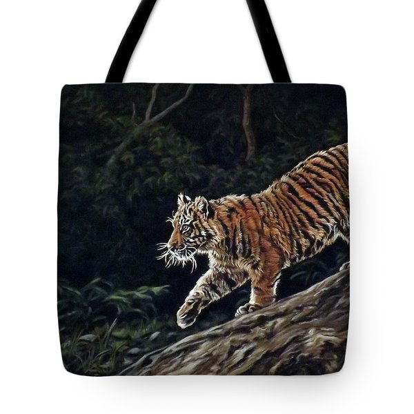 Sumatran Cub Tote Bag