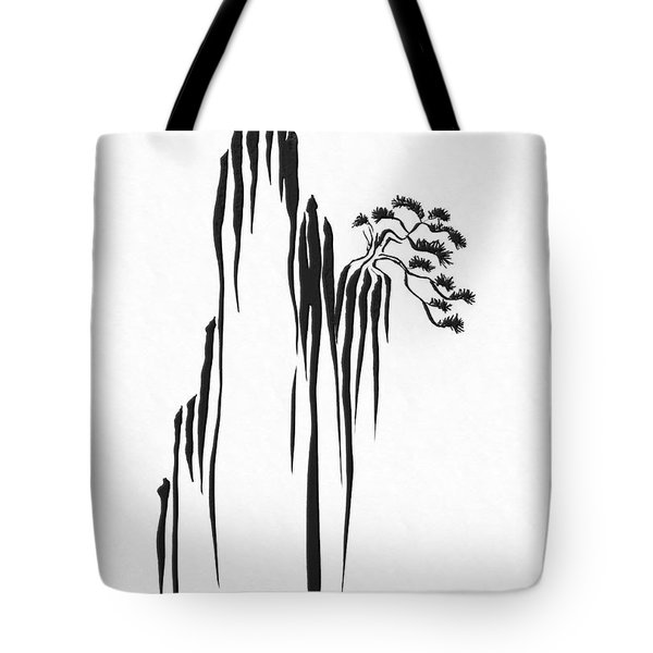 Sumi-e - Bonsai - One Tote Bag