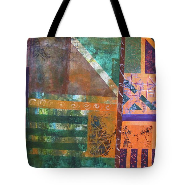 Summer Abstract Tote Bag