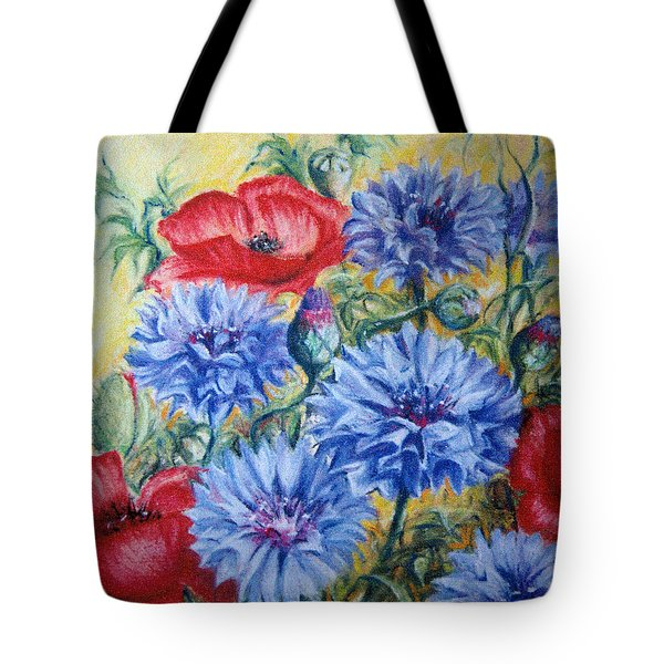 Summer Abundance Tote Bag