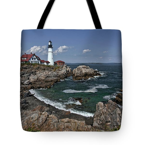 Summer Afternoon, Portland Headlight Tote Bag