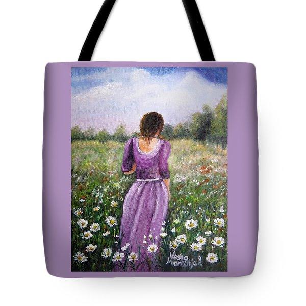 Summer Afternoon Tote Bag by Vesna Martinjak