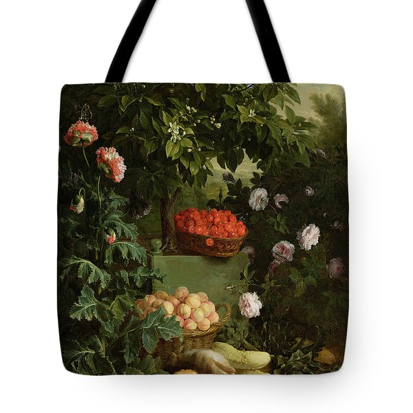 Summer Tote Bag by Alexandre-Francois Desportes