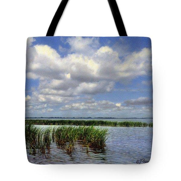 Summer Along Angler's Bay Tote Bag
